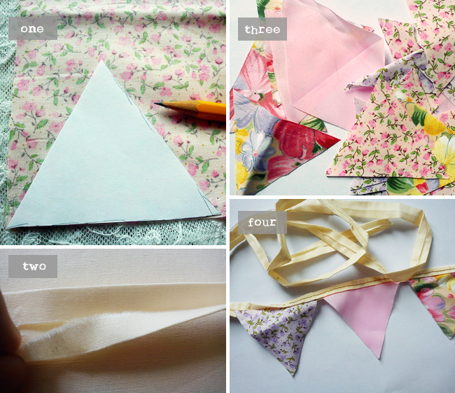 How to sew a bunting via heyladyspring.com
