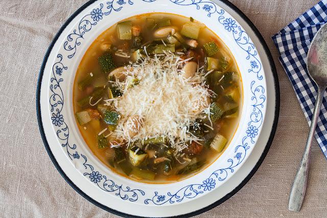 Minestrone supa od povrća iz rerne