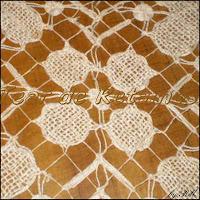 A Renda Nhanduti, também conhecida como Renda sol ou Renda Tenerife provavelmente surgiu na Espanha em meados do século XVI
