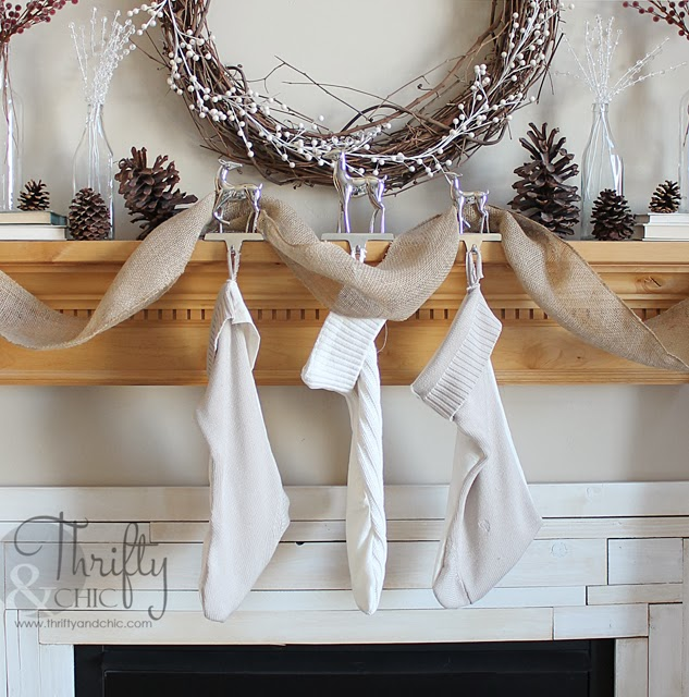 diy stockings made from sweaters