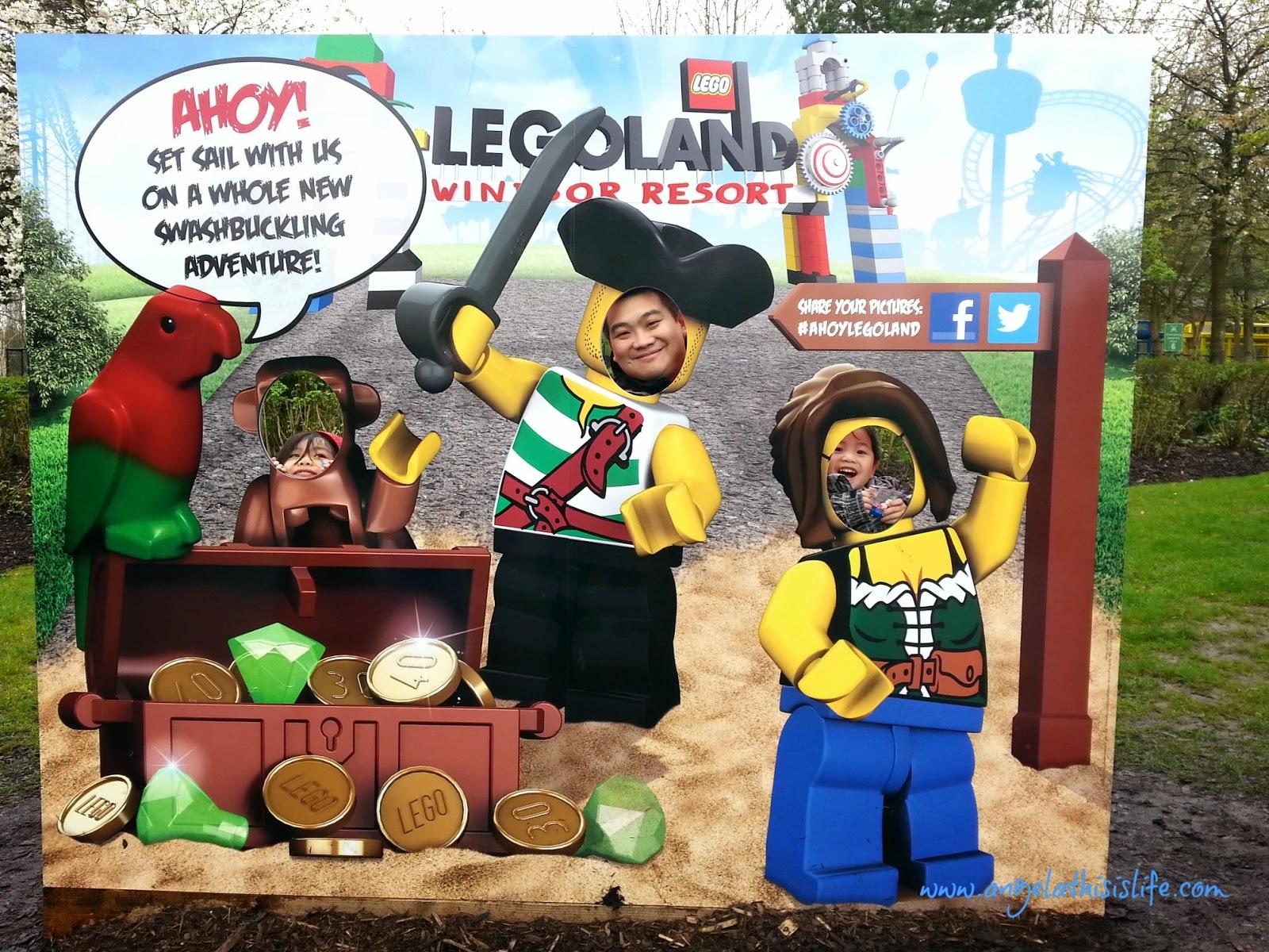 Legoland Windsor 2014, Legoland Windsor Easter, Legoland Windsor Pirate Shores 2014