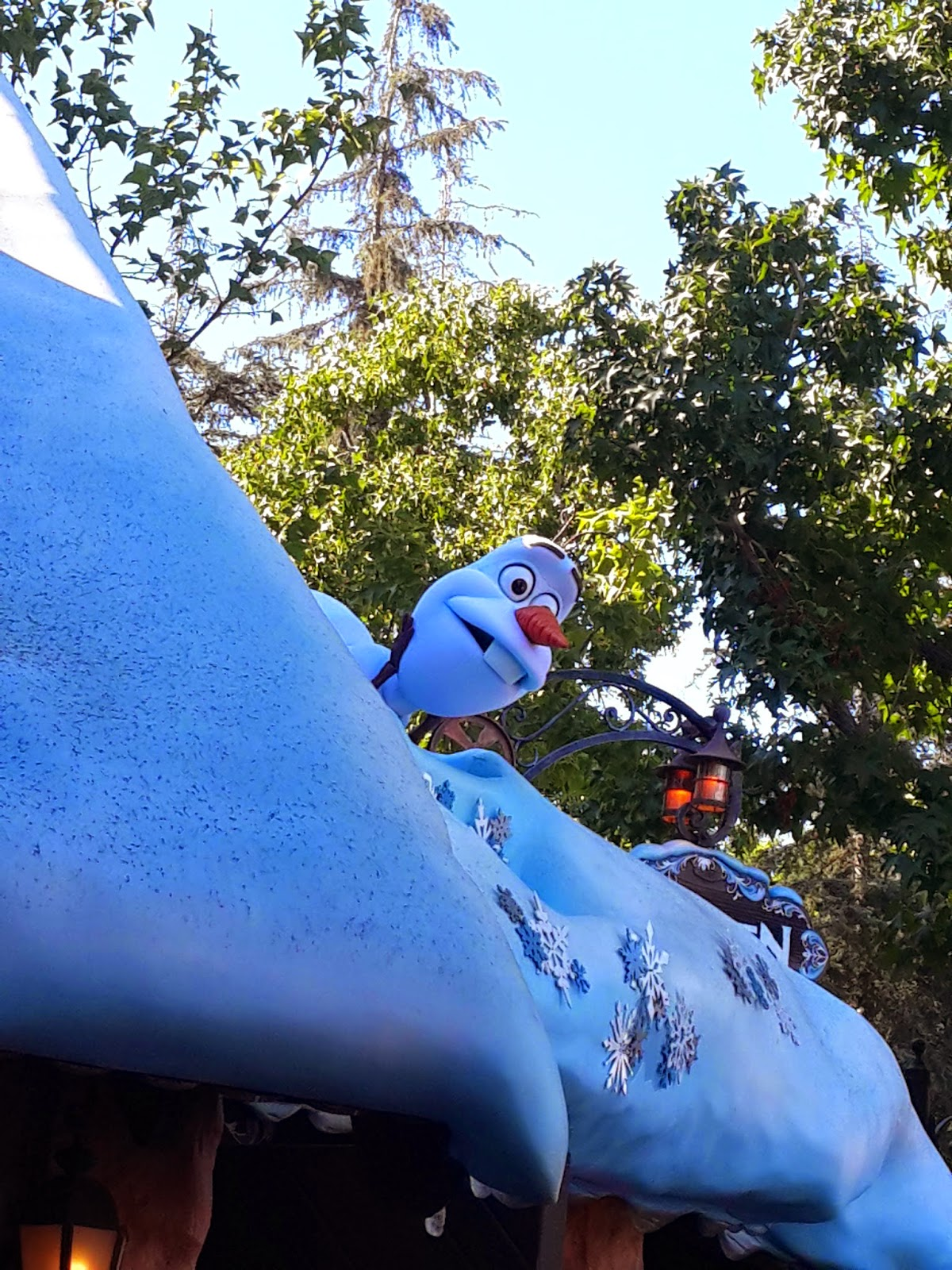 Disneyland Los Angeles, olaf