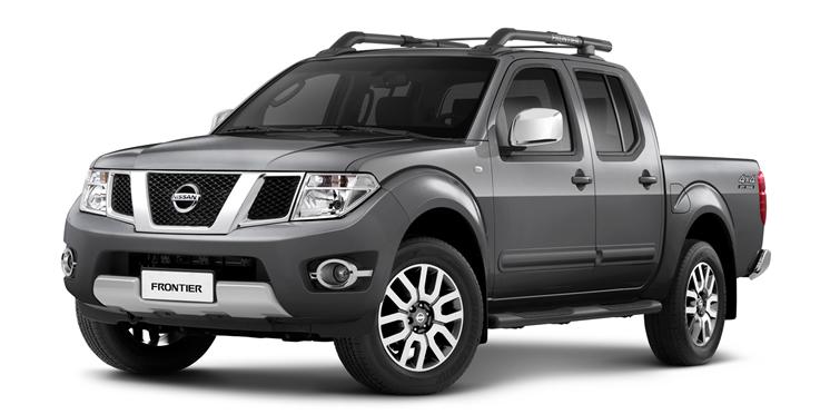 Nissan Frontier - Cinza Steel (Metálico)