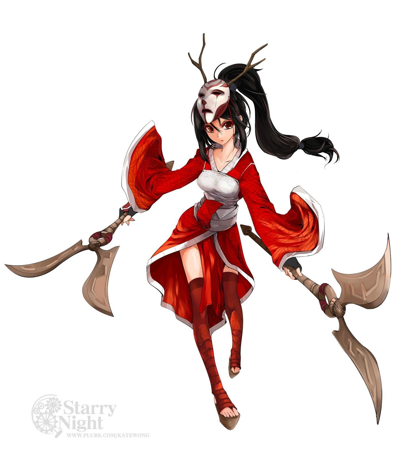 blood moon akali cosplay weapon tutorial