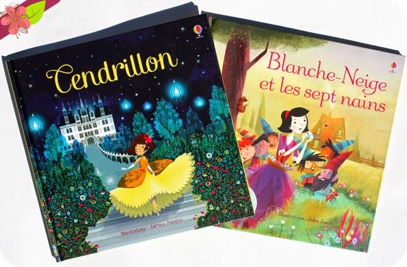 Cendrillon & Blanche-Neige et les sept nains - éditions Usborne
