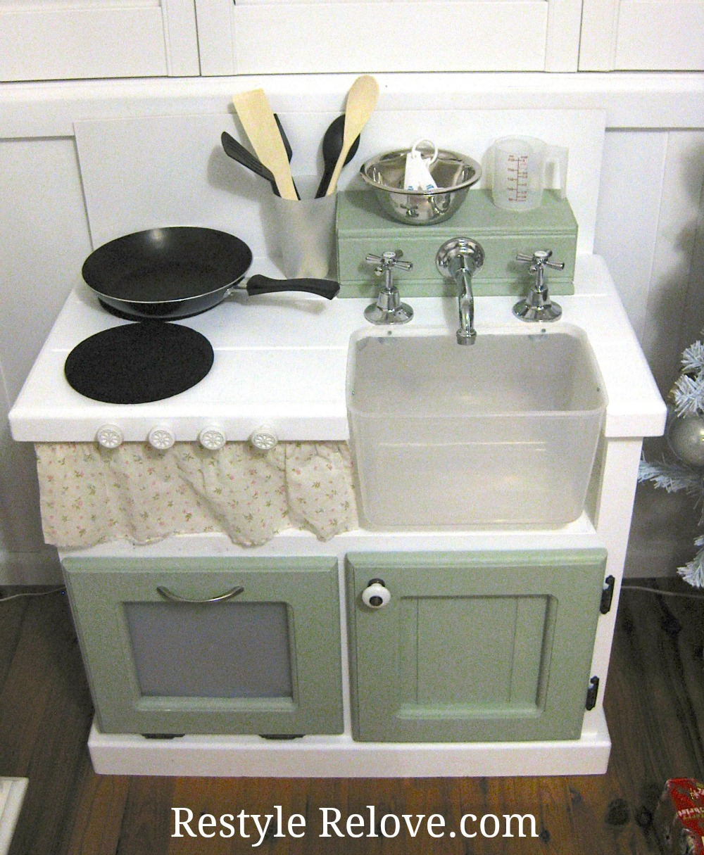 diy kids wooden kitchen