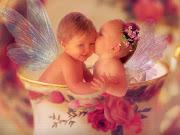Tiernos bebes postales de bebes