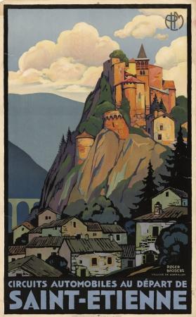 Vintage Travel Posters Saint Etienne