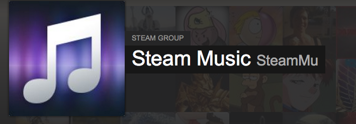 Steam Music logo image