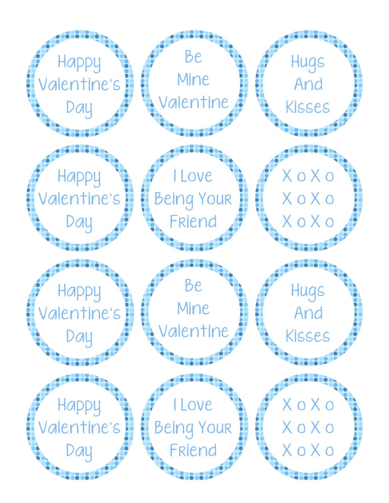 Cupcake Toppers : Valentine Cupcake Topper Printable for Boys & Girls - Love ...