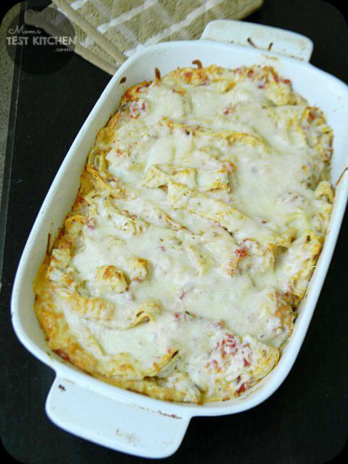 Simple Chicken Tortilla Casserole - Mom's Test Kitchen