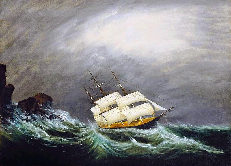 Galileu olhou viu e anotou  - Página 32 Three_master_in_a_storm