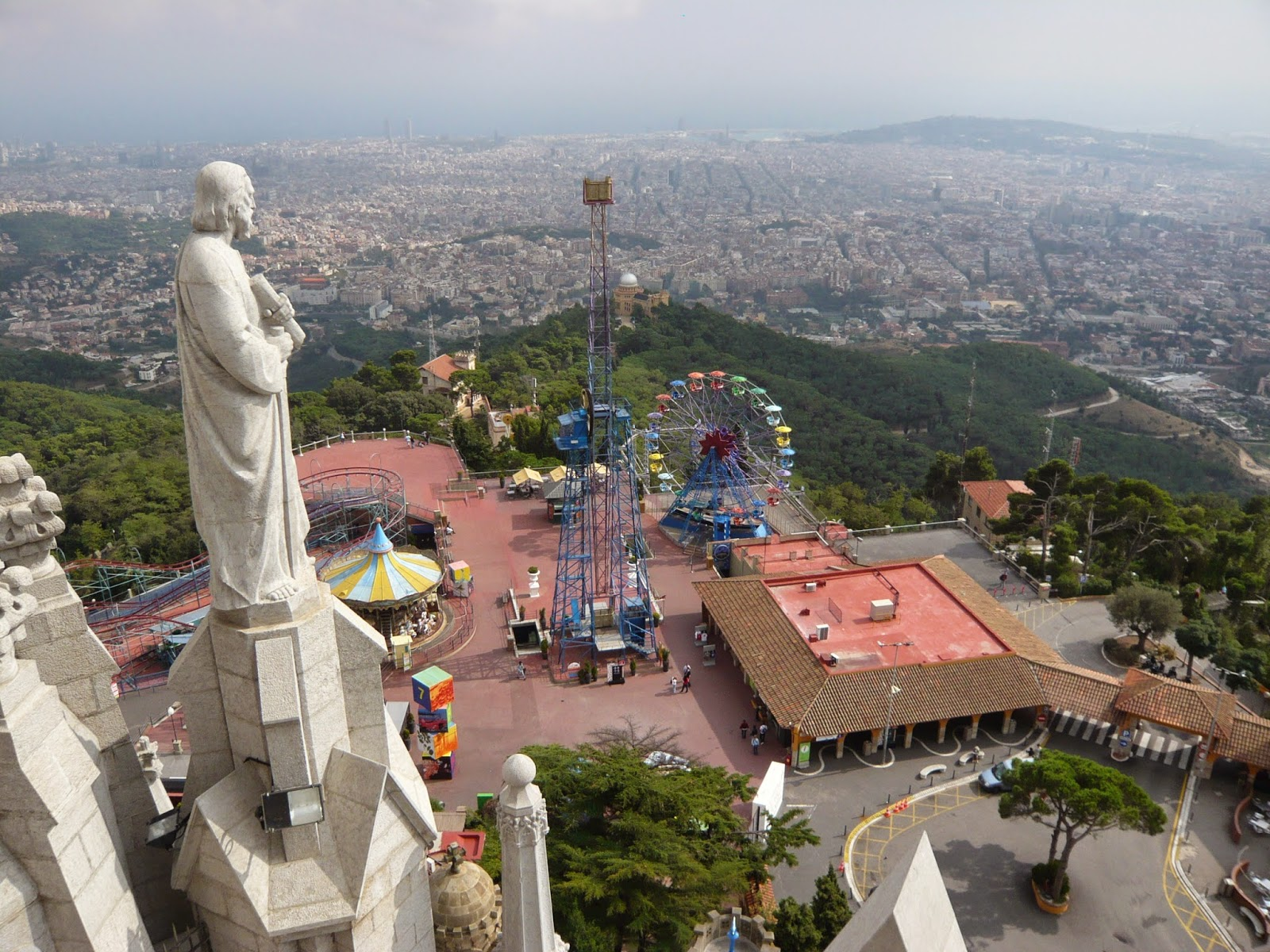 Tibidabo Mountain - A Magnificent Scenery - Barcelona City Travel - Barcelona...