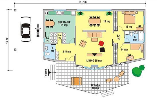 Planos de casas modelos y dise os de casas planos de for Planos de casas modernas mexicanas