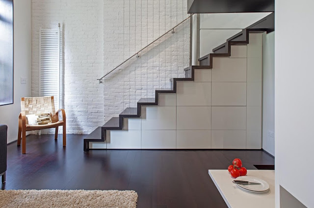 Minimalist designed staircase