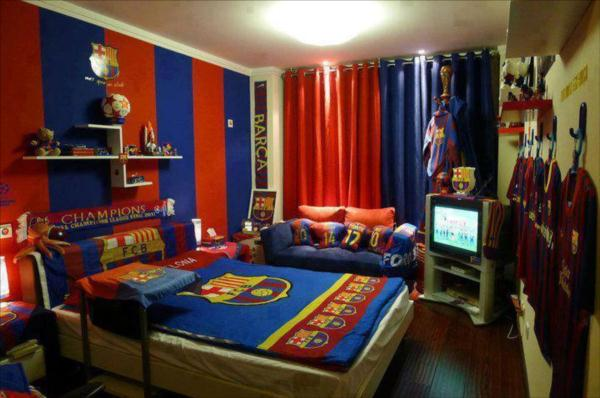 FC BARCELONA FOR TEENROOM ~ Inspire Your Home