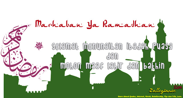 Marhaban Ya Ramadhan 1436H - Selamat Datang Bulan Suci Ramadhan 2015