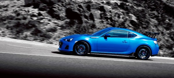 Subaru BRZ tS: Basically It's a Subaru BRZ STI and It's Only Available in Japan…