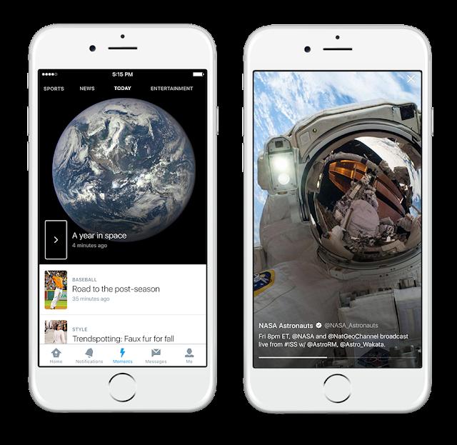 Twitter lança Moment para destacar as melhores histórias do dia