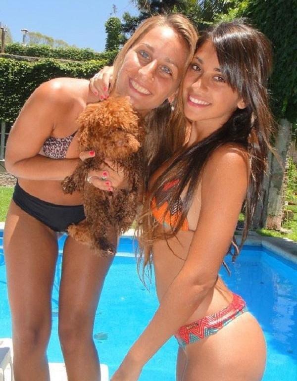 Antonella Roccuzzo hot friend