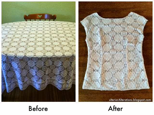 repurposed tablecloth, part 1