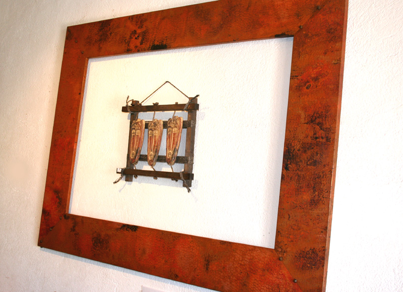Amadera meuble et d coration le charme thique du for Grand miroir cuivre
