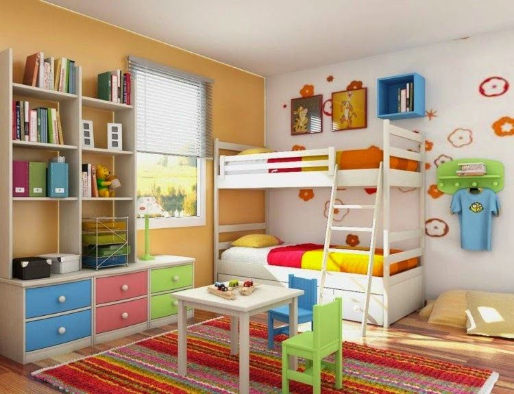 Colorful Nursery Design Ideas