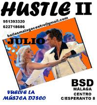 JULIO, HUSTLE II EN BSD BAILAS SOCIAL DANCE MÁLAGA CENTRO.