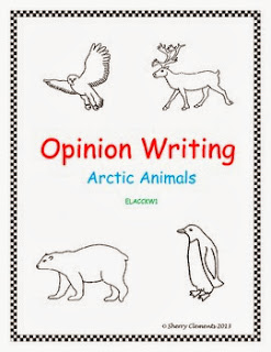 http://www.teacherspayteachers.com/Product/Opinion-Writing-Arctic-Animals-Common-Core-1021802
