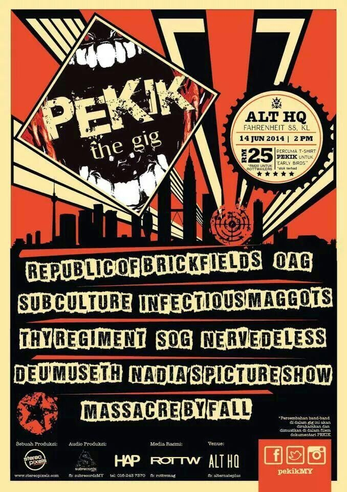 Event Pekik The GiG 2014