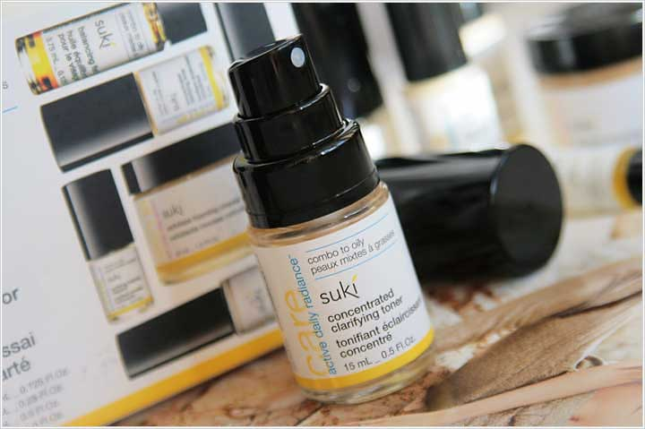 Suki Inc. Face Concentrated Balancing Toner White Willow Salicins + Vit C Polypeptides