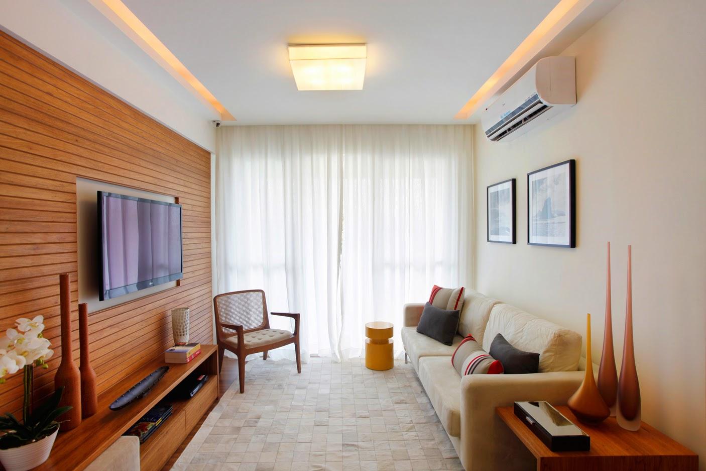 Apartamentos decorados pequenos fotos e dicas for Decorar apartamento pequeno fotos