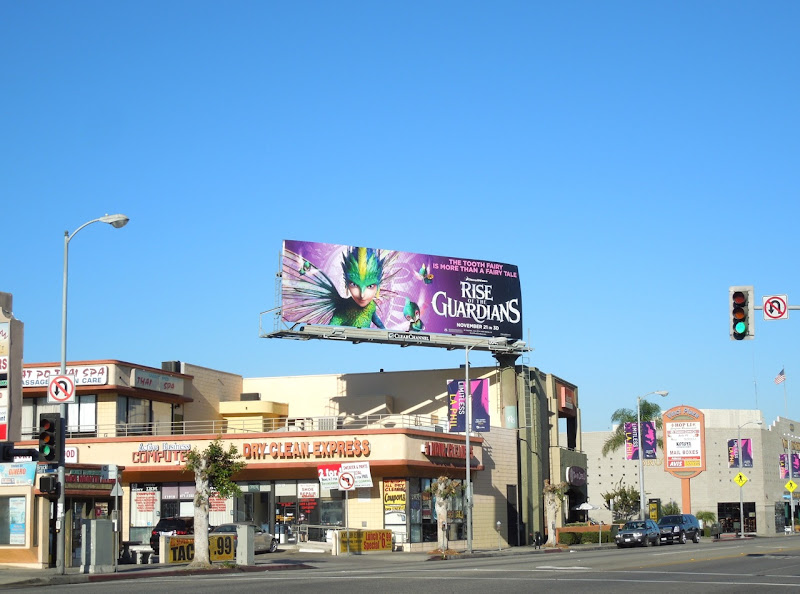 Tooth Fairy Rise Guardians movie billboard
