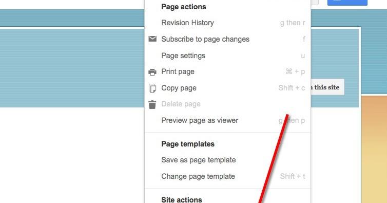 Google sites creating a custom header andor footer maxwellsz