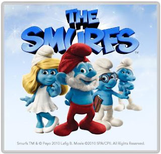 the smurfs movie poster and review