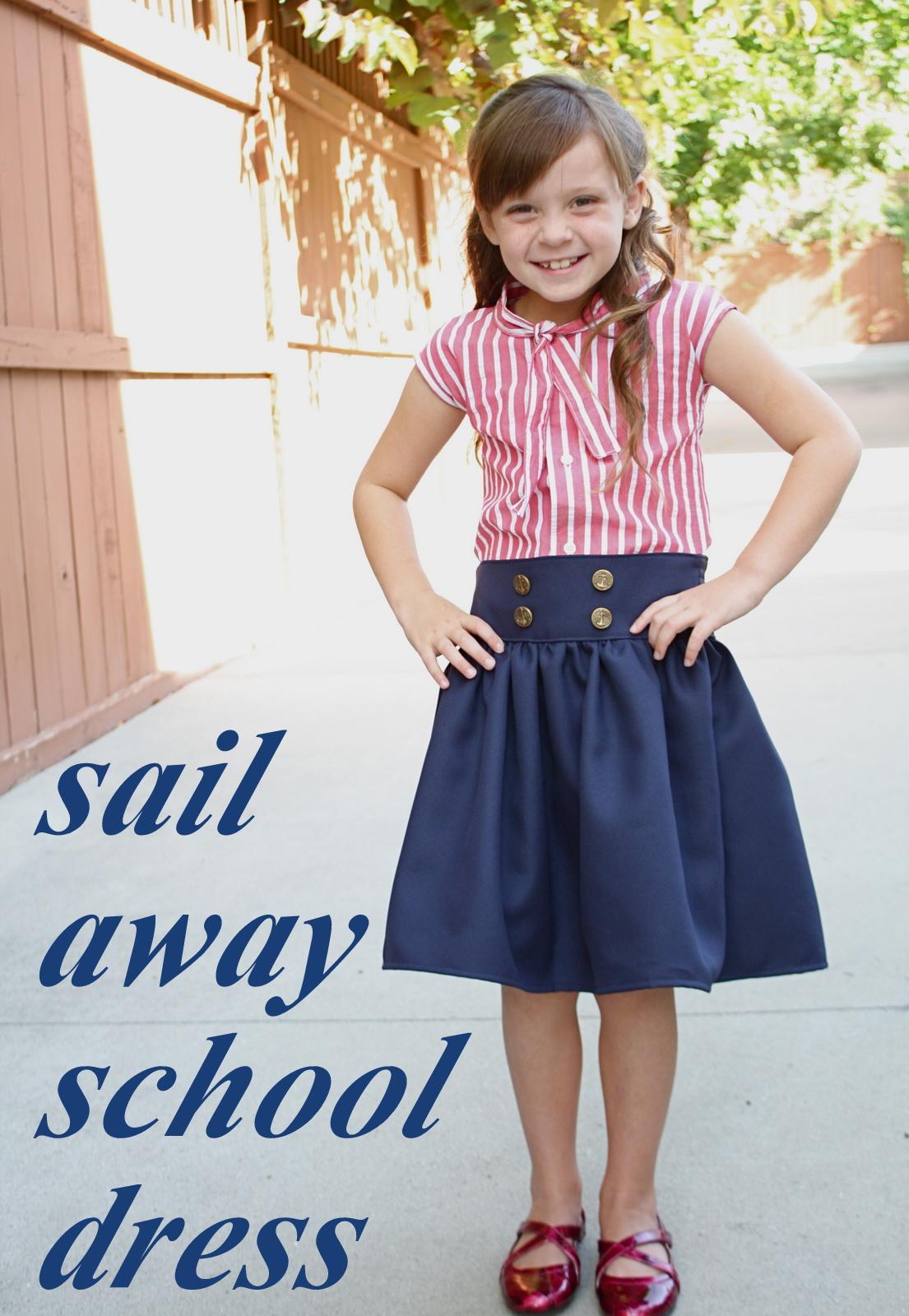 At second street sail away school dress tutorial sail away school dress tutorial jeuxipadfo Images