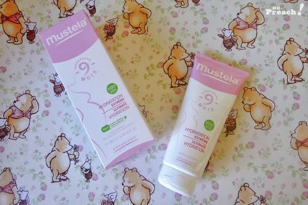 Review: Testei o Mustela Hidratação Extema, o creme que combate as estrias da gravidez!