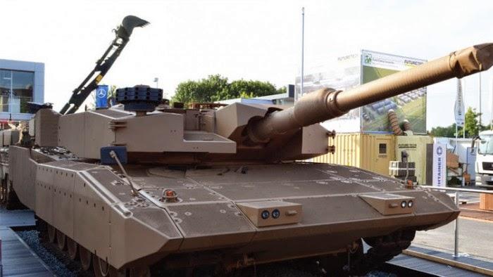 Indonesia pesan 103 MBT dari Rheinmetall