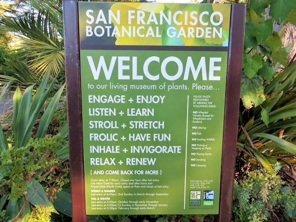 Exceptionnel San Francisco Botanical Garden