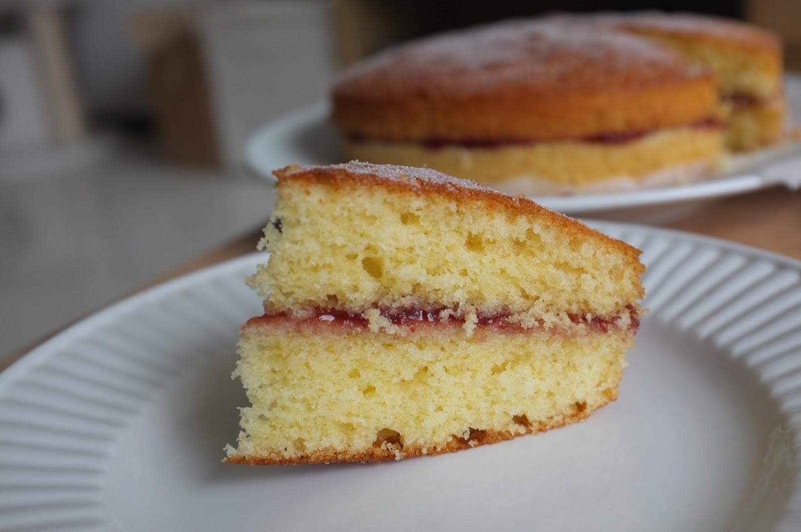 Sponge Cake Vs Butter Cake