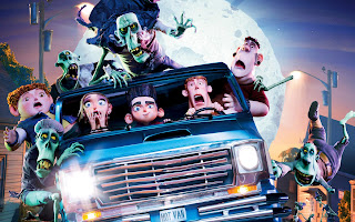 Paranorman Movie All Characters in a Van HD Wallpaper