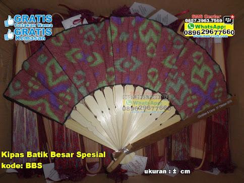Kipas Batik Besar Spesial unik