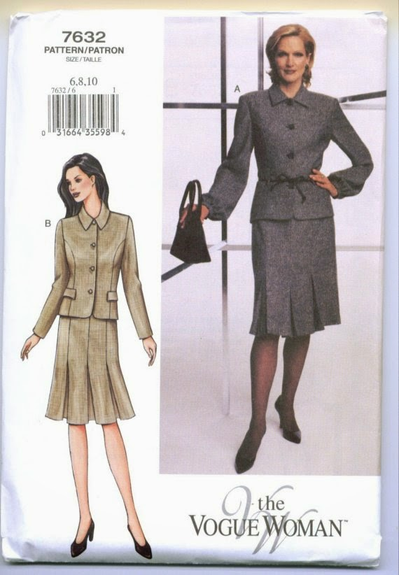 Diary of a Sewing Fanatic: OOP Vogue 7632 - The Vogue Woman Pattern ...
