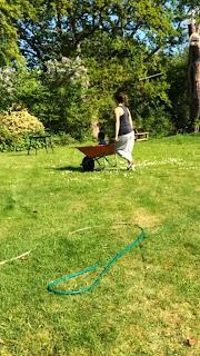 Odemwingie's wife wheeling Noah