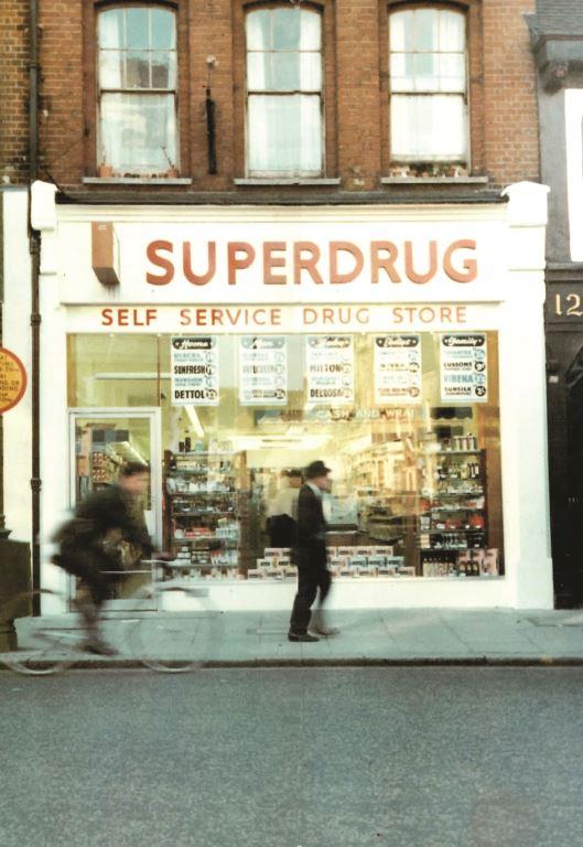 Superdrug in 1964