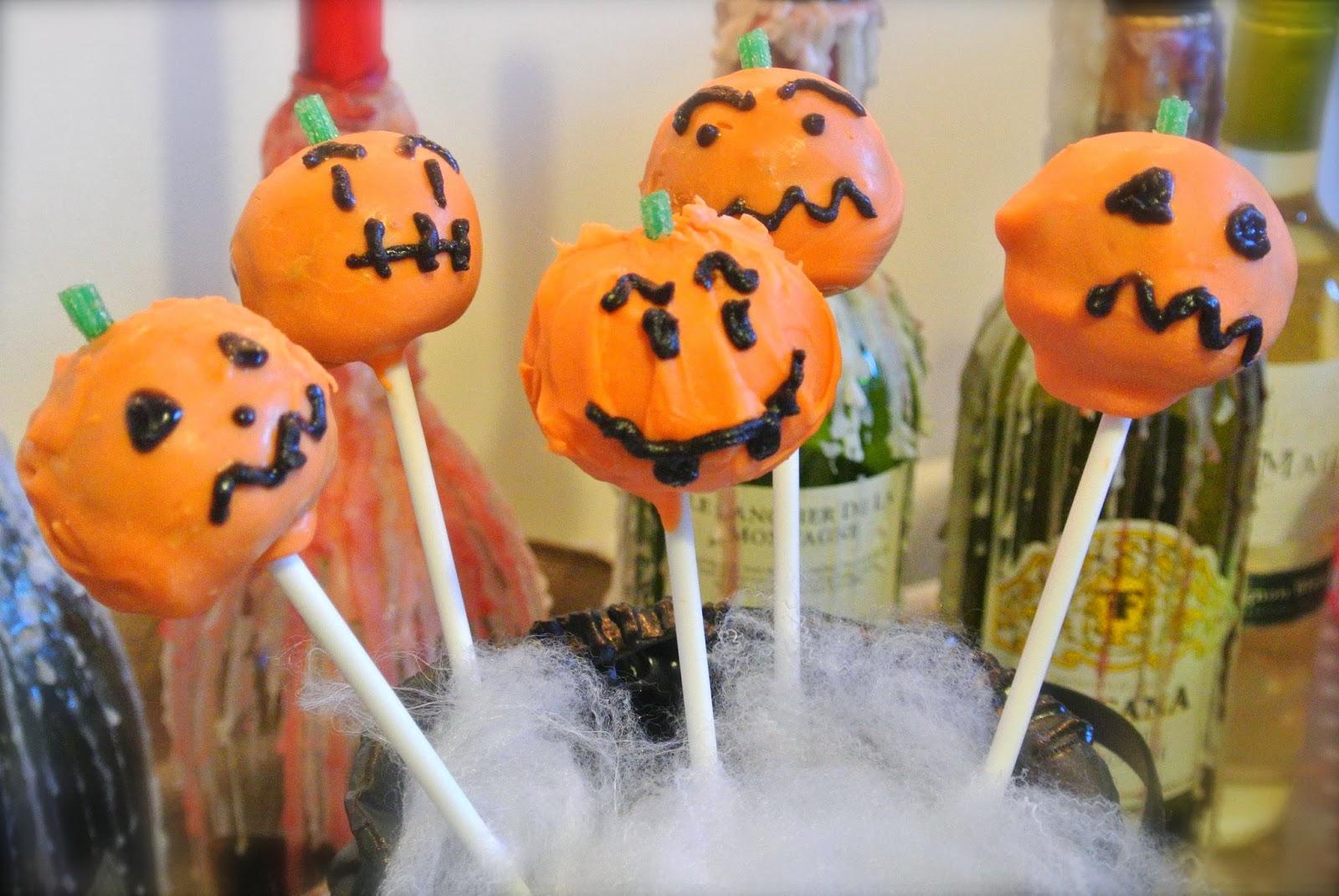 DIY : Halloween Cake Pops - Fashion Mumblr