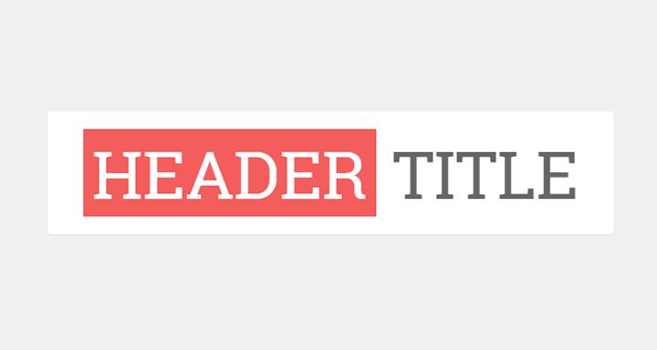 Mengganti Tampilan Judul Blog