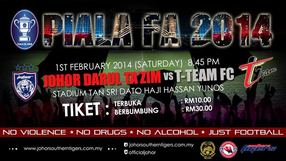 Johor Darul Takzim vs T-Team FC