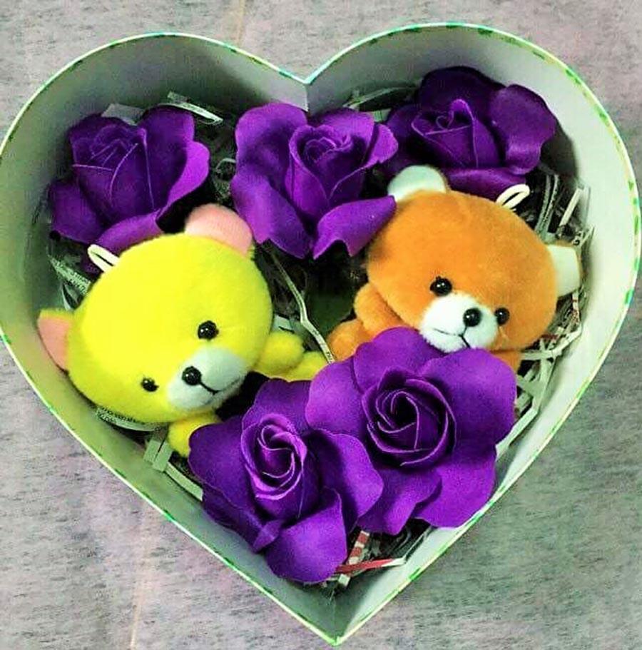 """Gia Lai: Hoa hồng sáp thơm """"chiếm lĩnh"""" thị trường quà tặng 20-10"""