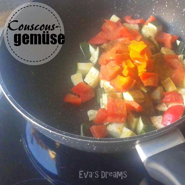 Lieblings Rezept: Couscous Gemüse